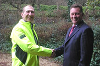 Sponsorship of Local Businessman Charity Cycle Challenge